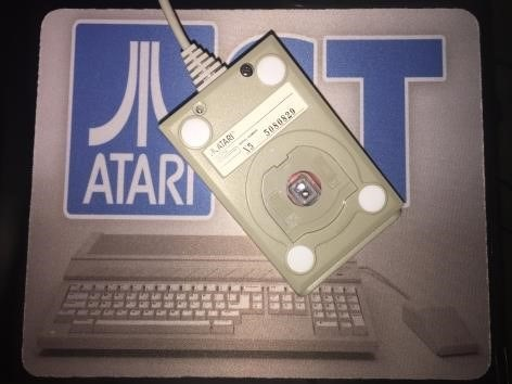 A nice Atari ST themed mouse pad.