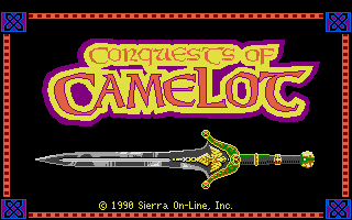 Large screenshot of Conquests of Camelot - The Search for the Grail
