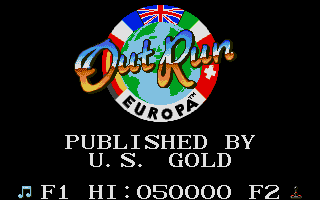 Screenshot of OutRun Europa