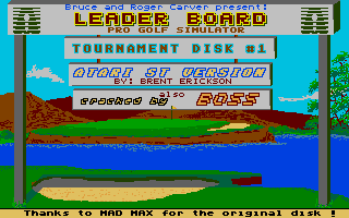 Thumbnail of other screenshot of Leaderboard - Tournament Disk 1