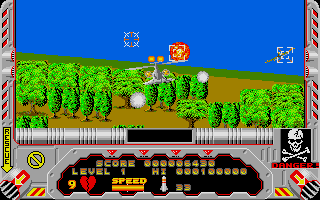 Screenshot of Hellfire Attack