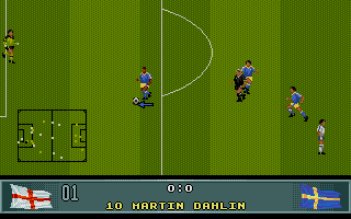 Screenshot of John Barnes European Football