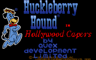 Thumbnail of other screenshot of Huckleberry Hound In Hollywood Capers
