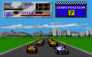 Thumbnail of other screenshot of Indy 500