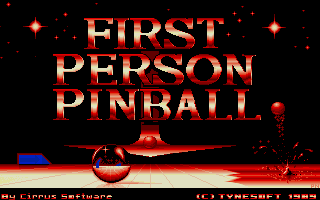 Large screenshot of First Person Pinball