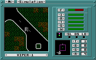 Omega was one of the first multiplayer games, with publisher Origin hosting its own BBS were players could meet!