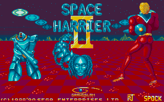 Thumbnail of other screenshot of Space Harrier II