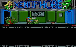 Screenshot of Xenophobe