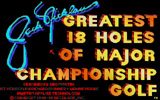 Thumbnail of other screenshot of Jack Nicklaus Golf