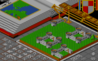 Screenshot of Populous - The Promised Lands