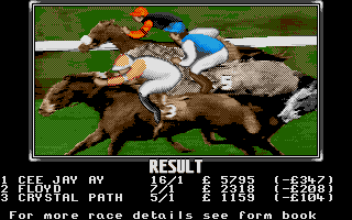 Screenshot of Stable Masters II