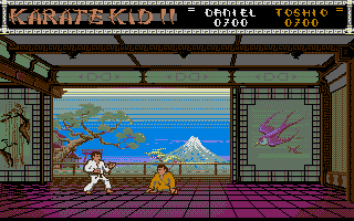 Second fight with Toshio. This time he's a bit pissed :-)