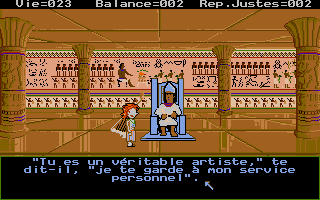 Screenshot of Le Labyrinthe Des Pharaons