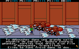 Screenshot of Le Labyrinthe De Morphintax