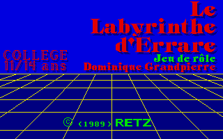 Thumbnail of other screenshot of Le Labyrinthe D'Errare