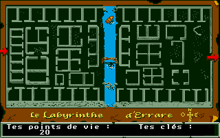 Screenshot of Le Labyrinthe D'Errare