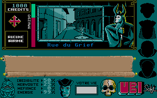 Screenshot of Masque +