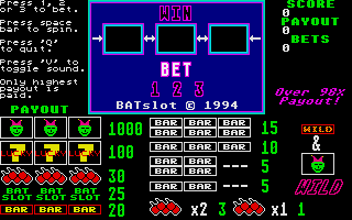 Screenshot of BATslot
