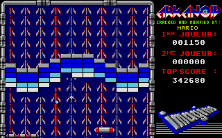 Screenshot of Arkanoid 3