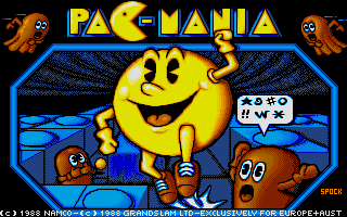 Screenshot of Pacmania