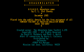 Thumbnail of other screenshot of Dragonslayer
