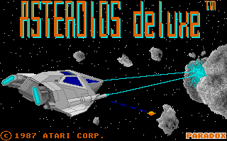 Thumbnail of other screenshot of Asteroids Deluxe