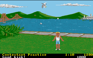 Screenshot of California Games