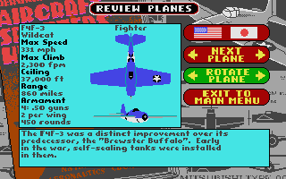 Screenshot of Battlehawks 1942