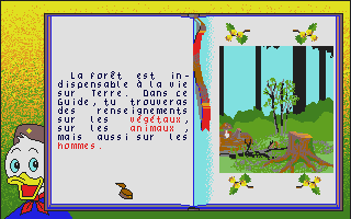 Screenshot of Castors Juniors dans la Foret, Les