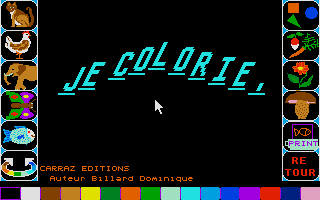 Thumbnail of other screenshot of Je Colorie