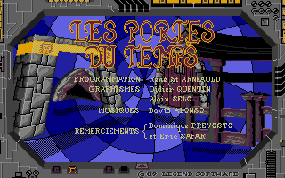Screenshot of Portes du Temps, Les