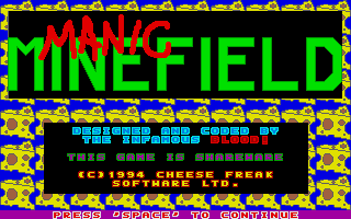 Thumbnail of other screenshot of Manic Minefield
