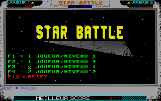 Thumbnail of other screenshot of Star Battle