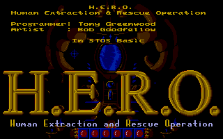 Screenshot of H.E.R.O. - Human Extraction and Rescue Operation