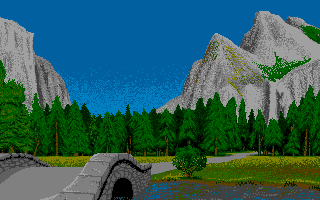 Screenshot of Drivin' Force