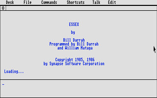 Screenshot of Essex
