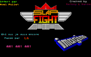 Thumbnail of other screenshot of Slap Fight