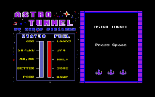 Screenshot of Astro Tunnel