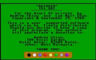 Thumbnail of other screenshot of Decoder