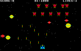 Screenshot of Invaders