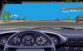Thumbnail of other screenshot of Test Drive II - The Duel