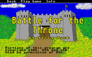 Thumbnail of other screenshot of Battle for the Throne