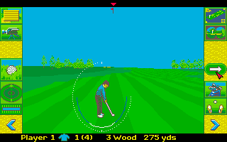 Thumbnail of other screenshot of Microprose Golf