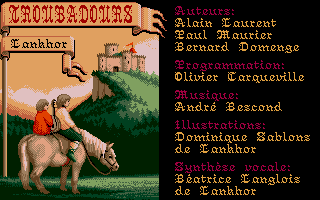 Screenshot of Troubadours
