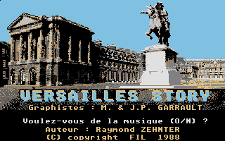 Screenshot of Versailles Story