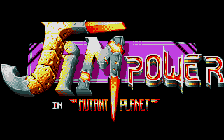 Screenshot of Jim Power In Mutant Planet