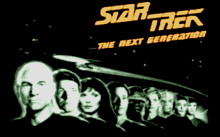 Large screenshot of Star Trek - The Next Generation