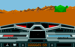Screenshot of Moon Blaster