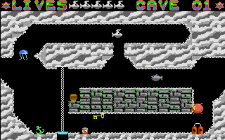 Thumbnail of other screenshot of Caves of Rigel