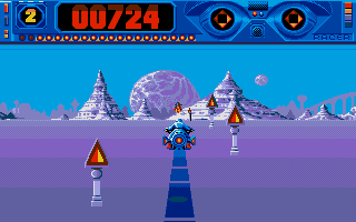 Screenshot of Space Racer